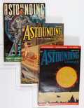"""Pulps:Science Fiction, Astounding Stories - E. E. """"Doc"""" Smith Group (Street & Smith,1937-39) Condition: Average VG+.... (Total: 9 Items)"""