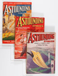 Pulps:Science Fiction, Astounding Stories Group (Street & Smith, 1936-39) Condition:Average VG/FN.... (Total: 9 Items)