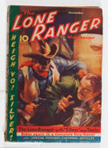 Pulps:Western, The Lone Ranger Magazine #8 (Trojan Publishing, 1937) Condition: VG....
