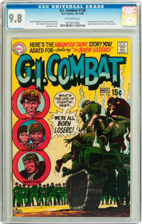 G.I. Combat #138 (DC, 1969) CGC NM/MT 9.8 Off-white pages