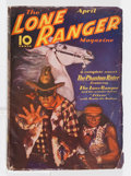 Pulps:Western, The Lone Ranger Magazine #1 (Trojan Publishing, 1937) Condition: VG+....
