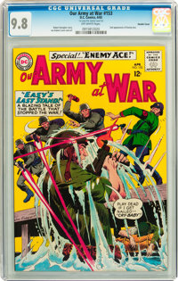 Our Army at War #153 Double Cover (DC, 1965) CGC NM/MT 9.8 Off-white pages