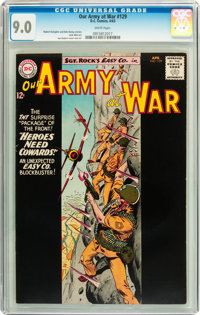 Our Army at War #129 (DC, 1963) CGC VF/NM 9.0 White pages