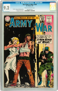 Our Army at War #104 (DC, 1961) CGC NM- 9.2 Cream to off-white pages