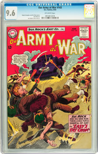 Our Army at War #143 (DC, 1964) CGC NM+ 9.6 Off-white pages