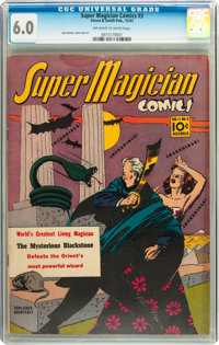 Super Magician Comics #3 (Street & Smith, 1941) CGC FN 6.0 Off-white to white pages