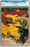 Golden Age (1938-1955):Adventure, Super Magician Comics #5 (Street & Smith, 1942) CGC FN- 5.5 Light tan to off-white pages....