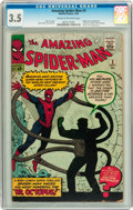 The Amazing Spider-Man #3 (Marvel, 1963) CGC VG- 3.5 Cream to off-white pages