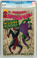 Silver Age (1956-1969):Superhero, The Amazing Spider-Man #6 (Marvel, 1963) CGC FN 6.0 Off-white to white pages....