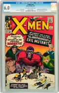 Silver Age (1956-1969):Superhero, X-Men #4 (Marvel, 1964) CGC FN 6.0 Off-white to white pages....
