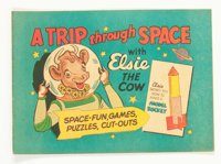 Elsie the Cow #1 A Trip Through Space (D.S. Publishing, 1957) Condition: VF/NM