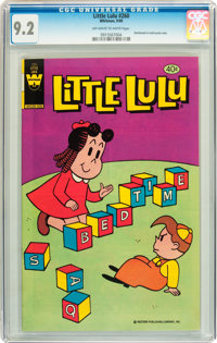 Little Lulu #260 (Whitman, 1980) CGC NM- 9.2 Off-white to white pages
