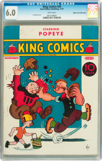 King Comics #20 Mile High pedigree (David McKay Publications, 1937) CGC FN 6.0 White pages