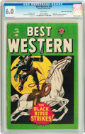 Golden Age (1938-1955):Western, Best Western #59 Mile High pedigree (Marvel, 1949) CGC FN 6.0 White pages....