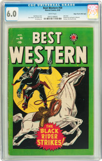 Best Western #59 Mile High pedigree (Marvel, 1949) CGC FN 6.0 White pages
