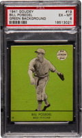 Baseball Cards:Singles (1940-1949), 1941 Goudey Bill Posedel,Green #19 PSA EX-MT 6....