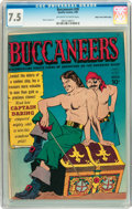 Golden Age (1938-1955):Adventure, Buccaneers #20 Mile High pedigree (Quality, 1950) CGC VF- 7.5 Off-white to white pages....