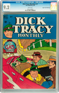 Golden Age (1938-1955):Crime, Dick Tracy Monthly #17 Mile High pedigree (Dell, 1949) CGC NM- 9.2 White pages....
