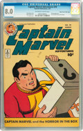 Golden Age (1938-1955):Superhero, Captain Marvel Adventures #70 Mile High pedigree (Fawcett, 1947) CGC VF 8.0 Off-white to white pages....