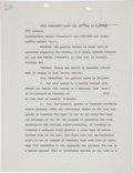 Boxing Collectibles:Memorabilia, 1972 Muhammad Ali Signed Contract for the Bob Foster Bout....