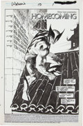 Original Comic Art:Splash Pages, John Buscema and Bill Sienkiewicz Wolverine #15 Splash Page 1 Original Art (Marvel, 1989)....