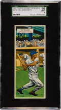 Baseball Cards:Singles (1950-1959), 1955 Topps Double Headers Ted Williams/Smith #69/70 SGC 96 Mint 9 - Pop One with None Higher! ...
