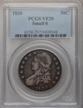 Bust Half Dollars: , 1830 50C Small 0 VF20 PCGS. PCGS Population (12/1389). NGC Census:(17/1555). Mintage: 4,764,800. Numismedia Wsl. Price for...