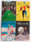 Pulps:Science Fiction, Fantasy and Science Fiction Box Lot (Fantasy House, Inc., 1951-80)Condition: Average VG.... (Total: 2 Box Lots)