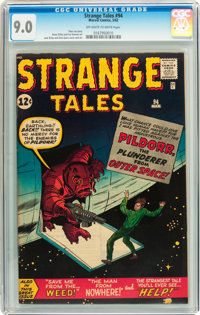 Strange Tales #94 (Marvel, 1962) CGC VF/NM 9.0 Off-white to white pages
