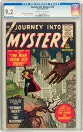 Golden Age (1938-1955):Science Fiction, Journey Into Mystery #26 (Atlas, 1955) CGC NM- 9.2 Cream tooff-white pages....