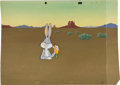 Animation Art:Production Cel, Peter Alvarado Haredevil Hare Production Cel with BackgroundAnimation Art (Warner Bros., 1948)....