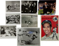 Autographs:Photos, 1990's Phil Rizzuto Signed and Unsigned Photographs with Many Vintage Prints....