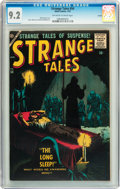 Silver Age (1956-1969):Horror, Strange Tales #54 Circle 8 pedigree (Atlas, 1957) CGC NM- 9.2Off-white to white pages....