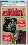 Silver Age (1956-1969):Mystery, Tales to Astonish #26 (Marvel, 1961) CGC VF/NM 9.0 Off-white towhite pages....