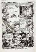 Original Comic Art:Panel Pages, Al Williamson and Carlos Garzon Star Wars #43 page 29Original Art (Marvel, 1981)....