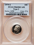 Proof Roosevelt Dimes: , 1979-S 10C Type Two PR69 Deep Cameo PCGS. PCGS Population(2993/189). Numismedia Wsl. Price for problem...