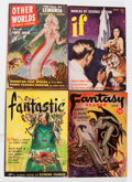 Pulps:Science Fiction, Assorted Science Fiction Pulps Box Lot (Various, 1950-59)Condition: Average VG/FN....
