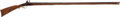 Long Guns:Muzzle loading, C. 1825 Eastern Pennsylvania Flintlock Full Stock 'Ball Gun'....