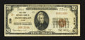 National Bank Notes:Maine, Skowhegan, ME - $20 1929 Ty. 1 The First NB Ch. # 239. ...