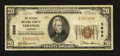 National Bank Notes:Kentucky, Lebanon, KY - $20 1929 Ty. 1 The Citizens NB Ch. # 3988. ...