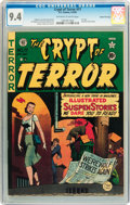 Golden Age (1938-1955):Horror, Crypt of Terror #17 Gaines File pedigree 6/10 (EC, 1950) CGC NM 9.4Off-white to white pages....