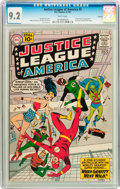 Silver Age (1956-1969):Superhero, Justice League of America #5 Circle 8 pedigree (DC, 1961) CGC NM- 9.2 White pages....