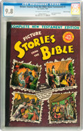 Golden Age (1938-1955):Religious, Picture Stories from the Bible Complete New Testament Edition40-Cent Cover - Gaines File pedigree (EC, 1945) CGC NM/MT 9.8 Of...