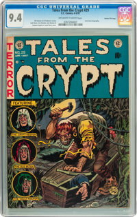 Tales From the Crypt #29 Gaines File pedigree 12/12 (EC, 1952) CGC NM 9.4 Off-white to white pages