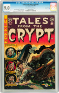 Golden Age (1938-1955):Horror, Tales From the Crypt #45 Gaines File pedigree 6/12 (EC, 1954) CGCVF/NM 9.0 Off-white to white pages....
