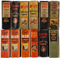 Big Little Book:Miscellaneous, Big Little Book Group (Whitman, 1933-39) Condition: Average GD.... (Total: 12 Items)