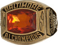 Baseball Collectibles:Others, 1969 Baltimore Orioles American League Championship Ring....