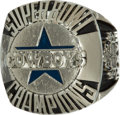 Football Collectibles:Others, 1992 Super Bowl XXVII Dallas Cowboys Ring....