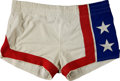 Basketball Collectibles:Uniforms, 1974-75 New Jersey Nets Game Worn Shorts....