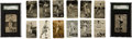 Baseball Cards:Lots, 1929-36 Zeenut Baseball PCL Collection (323) With DiMaggio....